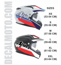 helmet AFRICA TWIN 750.ENDURO