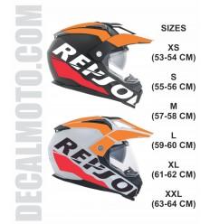 helmet REPSOL.ENDURO CASCO