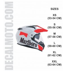 helmet MAR. ENDURO CASCO