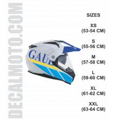 helmet GAULOISES .ENDURO CASCO