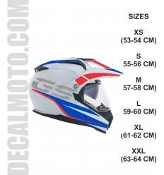 helmet GS.rallye.ENDURO casco
