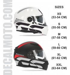 helmet GS.modular casco