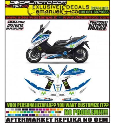 TMAX 2008 - 2011 M1 MOTO GP MOVISTAR