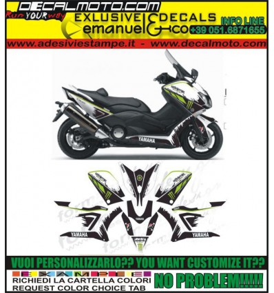 TMAX 2012 - 2014 530 MONSTER SAMUXX DESIGN
