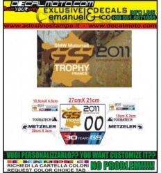 TABELLE TABS GS TROPHY 2011 FRANCE