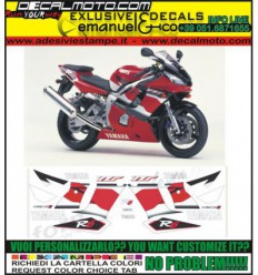 YZF R6 2001 RED