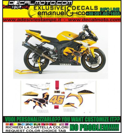 R6 2005 R46 ROSSI LIMITED EDITION