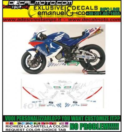 CBR REPLICA 600 1000 RR F TEAM TENKATE WINSTON