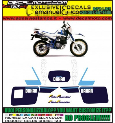 DR 600 1987 R DAKAR