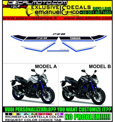 FZ8 BLUE RACE 2015