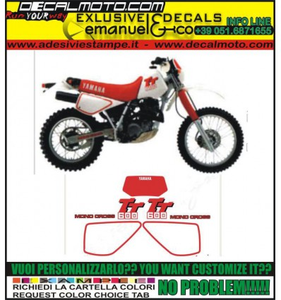 TT 600 N 1989 - 1991 3SW