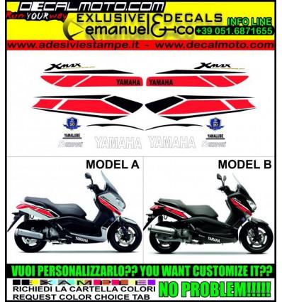 XMAX 125 250 400 2010 - 2013 50 TH...