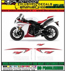 YZF R1 2009 WHITE RED USA