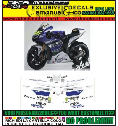 R1 R6 REPLICA MOTO GP M1 2013 LORENZO ROSSI