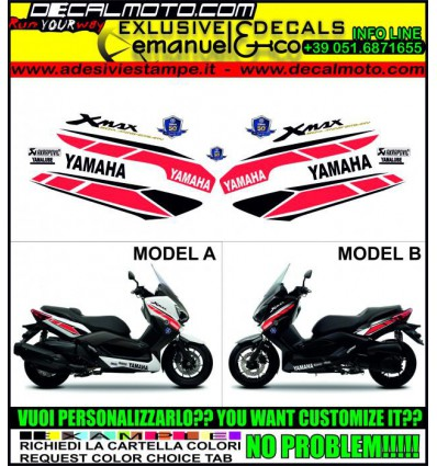 XMAX 125 250 400 2014 - 50 TH ANNIVERSARY