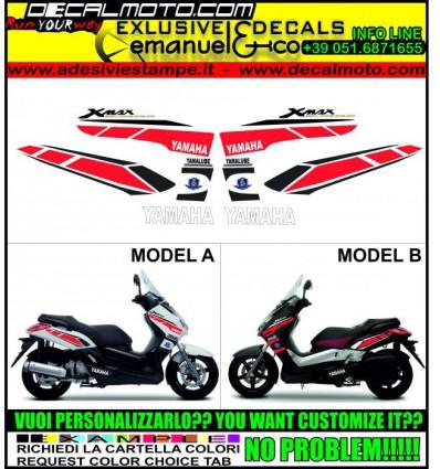 XMAX 125 250 400 2005 - 2009 50 TH...