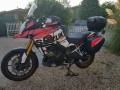 kit stickers vstrom 1000 sign su base rossa per Alessandro Gisonna da Treviso