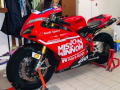 kit stickers 848 1098 1198 replica moto gp 2019 mission winnow tribute per Christian Curina Ferrrara ITALY